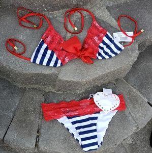 BEACH BUNNY American girl bikini
